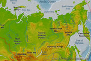 Siberia-map-physical