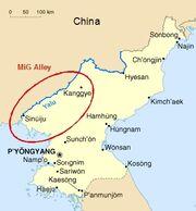 MiG Alley Map