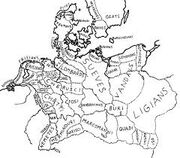Map of Germania