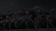 Skorpiovenator-fighting