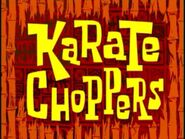 Karate Choppers title