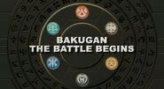 Bakugan The Battle Begins title
