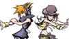 Neku and Shiki fight