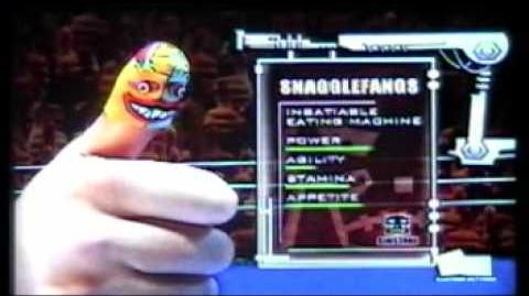Thumb Wrestling Federation Pierre Pamplemousse vs Snagglefangs