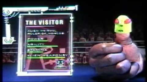 Thumb Wrestling Federation Weredog vs The Visitor