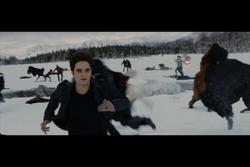 Edward running
