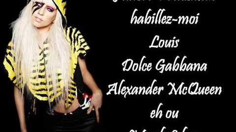 Lady Gaga - Fashion (Lyrics)