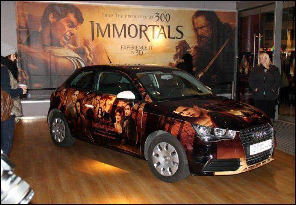 Breaking Dawn Part One covered CAR