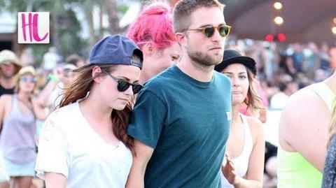 Robert Pattinson Grabs Kristen Stewart's Butt at Coachella