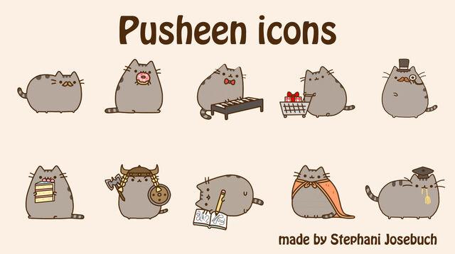File:Pusheen icons by stephani josebuch-d5qilb1.jpg