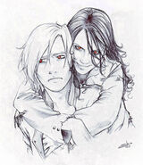Jasper and Maria Drawing