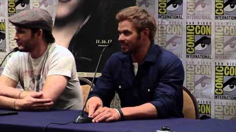 Breaking Dawn Part 2 Comic Con 2012 Panel 1 - Jackson Rathbone, Ashley Greene, Kellan Lutz