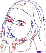 How-to-draw-bella-swan-from-twilight-step-4