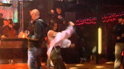 Kristen Stewart Dancing