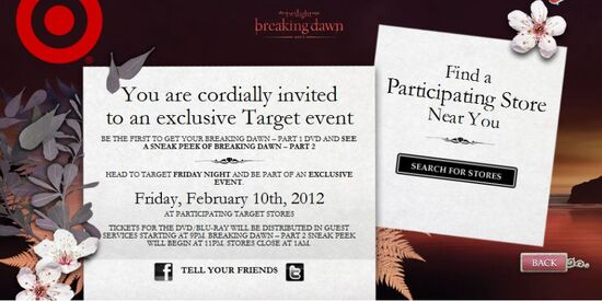 Breaking dawn Part OneDVD thing