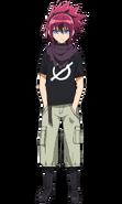 Shimon anime design