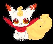 Kinako anime design