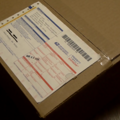 A package from Gordon Cole to [redacted]