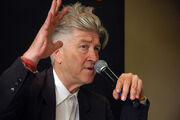 David Lynch -microphone -10Aug2007-2p