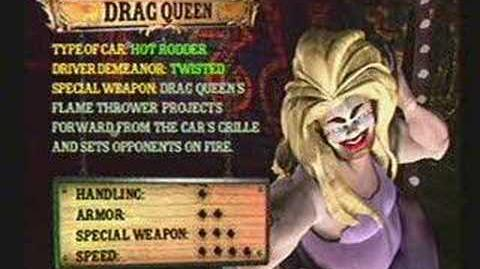 Twisted Metal 4 - Drag Queen's Info