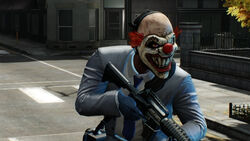 Payday 2 sweet tooth mask