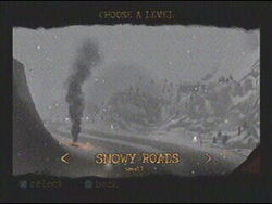 Level Snowy Roads