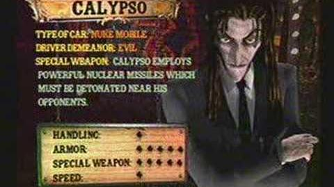 Twisted Metal 4 - Calypso's Info