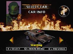 Twisted Metal 2 - Warthog