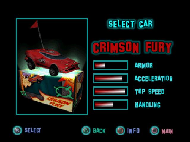 File:Twisted Metal - Small Brawl - Crimson Fury carsel.png