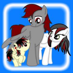 Crimson Dawn and his family