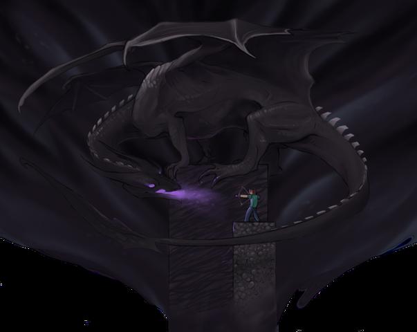File:Ender Dragon vs Steve.png