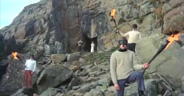 Wicker Man Locations - St Ninian's Cave-5