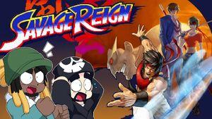 Savage Reign Title