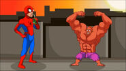 Superfriends Spiderman PS1 Hulk Pat