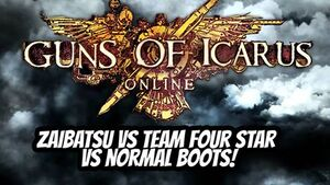 Guns of Icarus Title