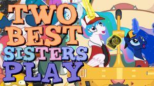 Best Sisters Pokemon Snap Title