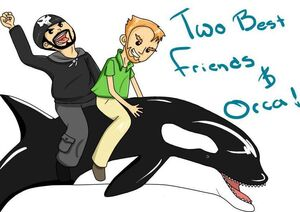 Two Best Friends and Orca