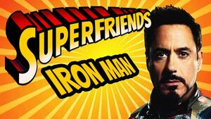 Superfriends Iron Man Heavy Metal