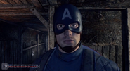 Captain America Stare Intro the Eyes of Patrotism