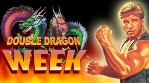 Double Dragon 3 Title