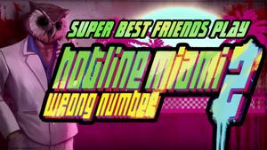 Hotline Miami 2 Title