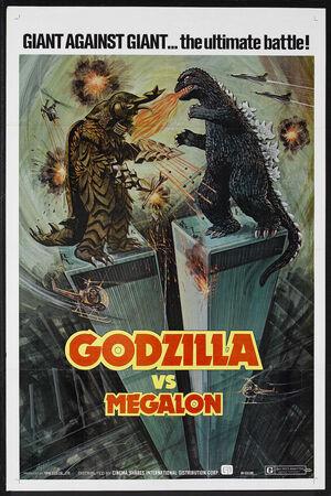 Godzilla VS Megalon
