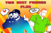A friendly collab two best friends play by alanwakeup-d69d63t