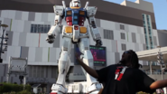 Woolie VS Japan Gundam Statue