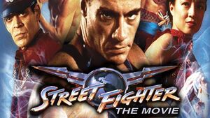 Street Fighter The Movie Title