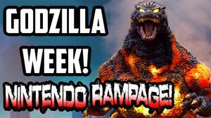 Godzilla Week Nintendo Rampage