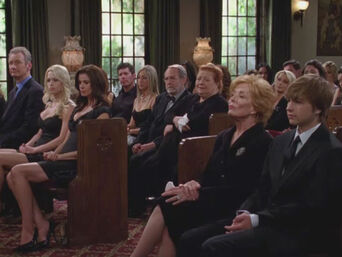 Charlie's funeral