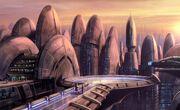 Mrcillian City Skyline