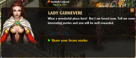 Lady guinevere