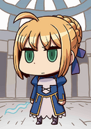 FGO Artoria Pendragon April Fool 2016